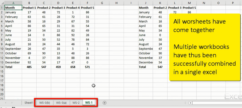 Combine Multiple Excel Workbooks into One