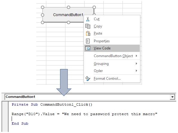 Insert Code in VB Editor